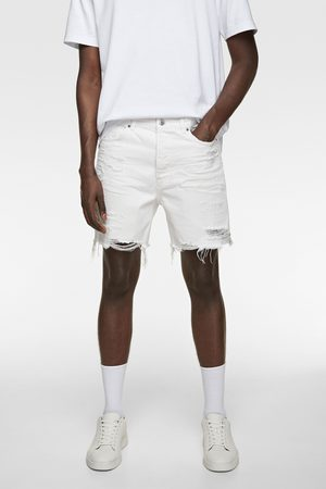 Zara Bermuda shorts denim strappi