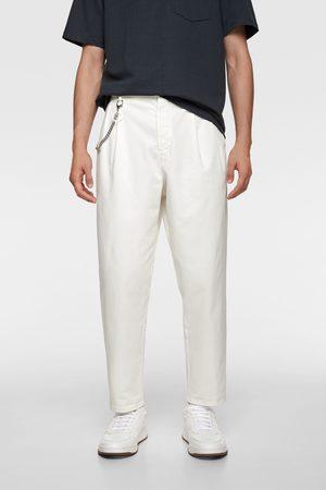 Zara Pantaloni 80's chino