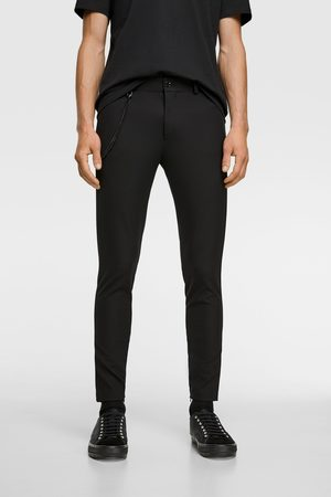 Zara Pantaloni super skinny catena