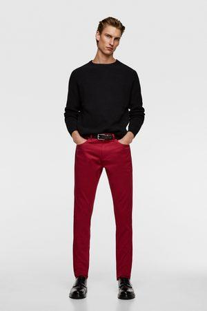 Zara Pantaloni skinny colorati