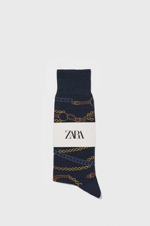 Zara Calzini cotone mercerizzato catene