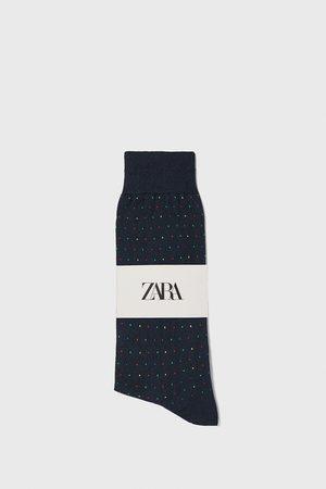 Zara Calzino in cotone mercerizzato jacquard
