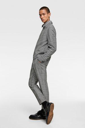 comprare on line b31c6 0496b Pantaloni strutturati a quadri