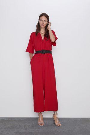 Zara Tuta cintura combinata