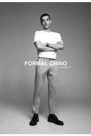 Zara Uomo Chinos - Pantaloni chino new cropped