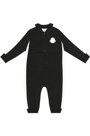 Moncler Baby - Tutina in cotone stretch