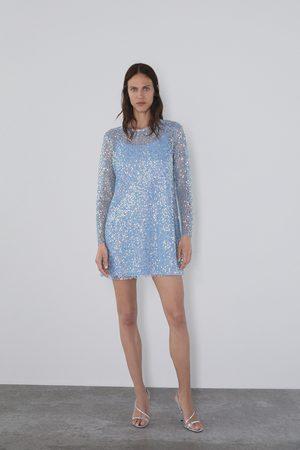Zara Vestito con paillettes