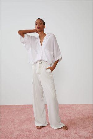 Zara Camicia morbida con tasche