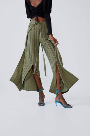 Zara Pantaloni pareo fiocco