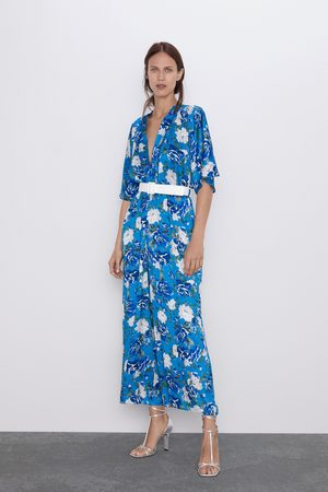 Zara Tuta stampa floreale cintura