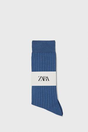Zara Calzino a costine cotone mercerizzato