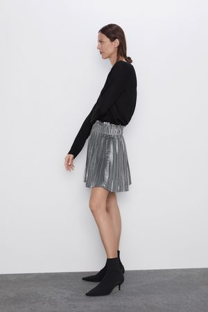 Zara Minigonna plissettata