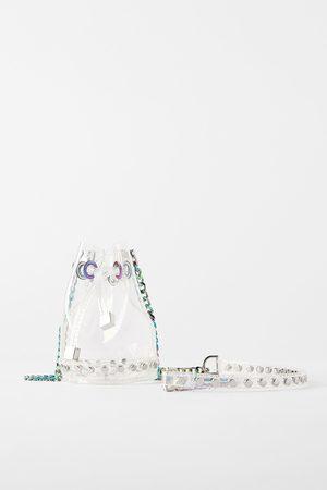 Zara Donna A tracolla - Mini borsa a secchiello in vinile