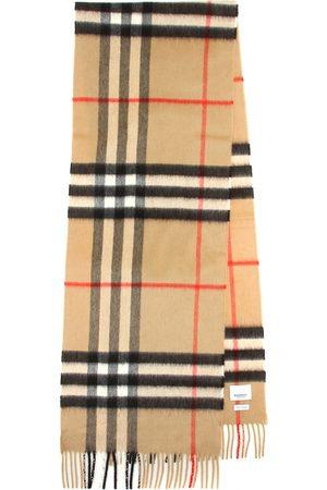 Burberry Sciarpa Giant Check in cashmere