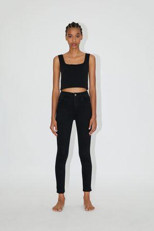 Zara Donna Pantaloni - Jeans hi rise sculpt
