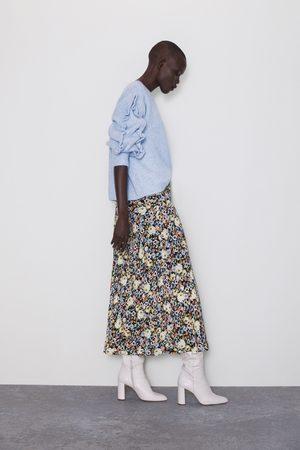Zara Donna Gonne - Gonna con stampa floreale