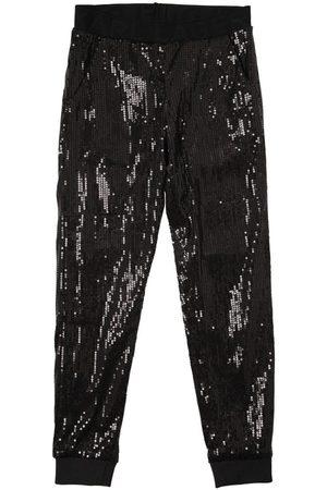 Karl Lagerfeld Bambina Pantaloni - Pantaloni In Techno Tessuto Con Paillettes