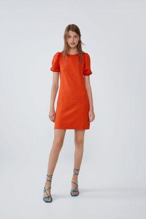 Zara Vestito con texture e volume