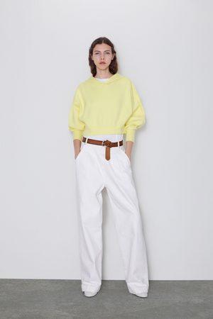 Zara Felpa in maglia con cappuccio