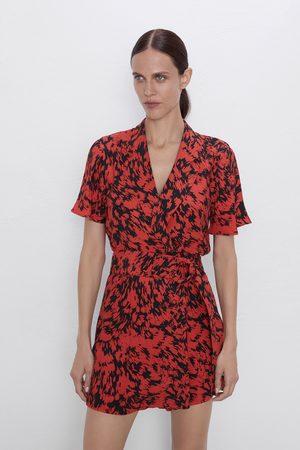 Zara Vestito mini stampato