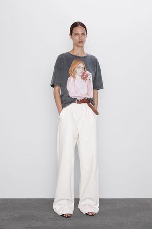 Zara Maglietta stampata ® coca-cola