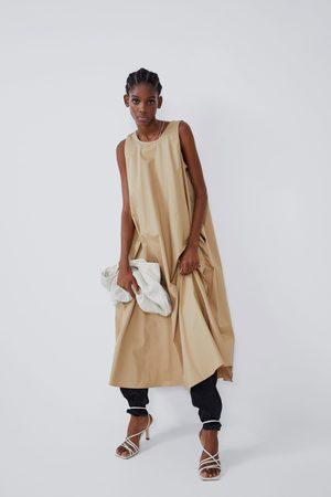 Zara Vestito midi tasche