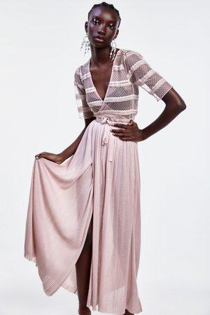 Vestiti Da Sposa Zara.Zara Donna Vestiti Lunghi Online Fashiola It Compara E Acquista