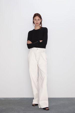 Zara Pullover basic a maniche lunghe