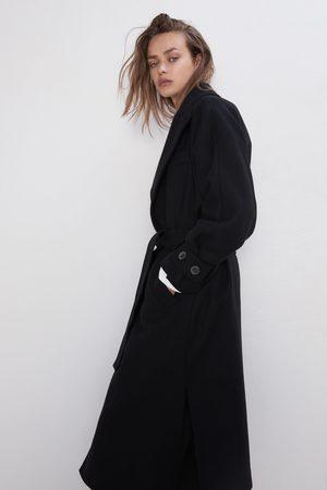 Zara Cappotto con cintura