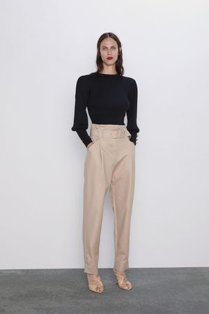 Zara Pantaloni slouchy cintura
