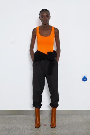 Zara Maglietta elastica con bretelle ampie