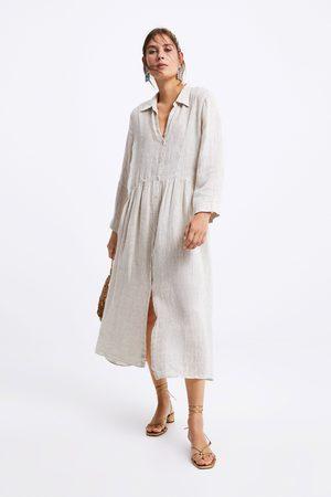Zara Vestito lino