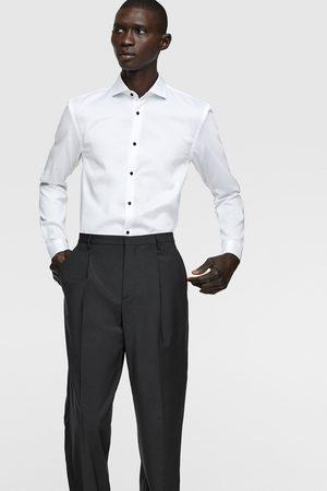 Zara Camicia struttura con bottoni