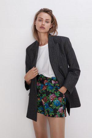 Zara Bermuda con stampa floreale