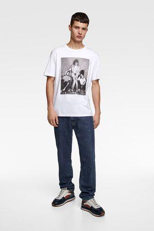 Zara Uomo T-shirt - Maglietta stampa nirvana © nirvana