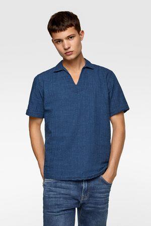 Zara Camicia polo rustica
