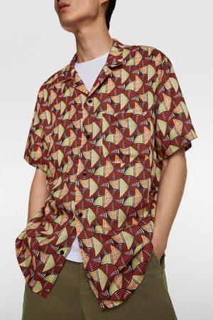 Zara Camicia stampa geometrica