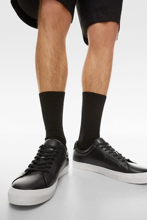 Zara Uomo Sneakers - Sneakers pelle nera