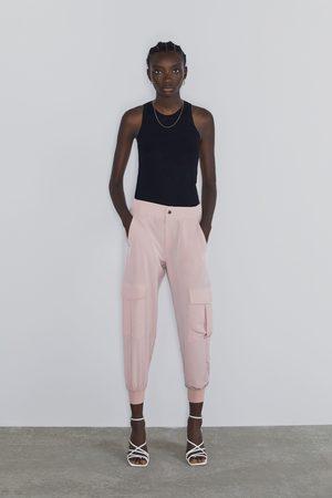 Zara Pantaloni militari morbidi