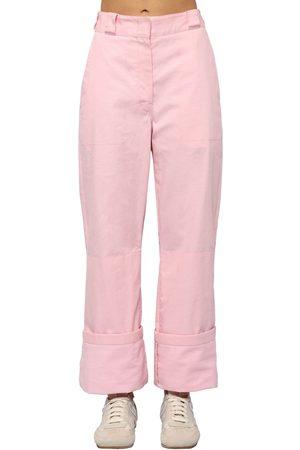 Loewe Pantaloni Cargo In Tela Di Cotone