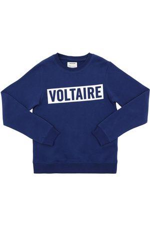 Zadig & Voltaire Felpa In Misto Cotone Con Logo
