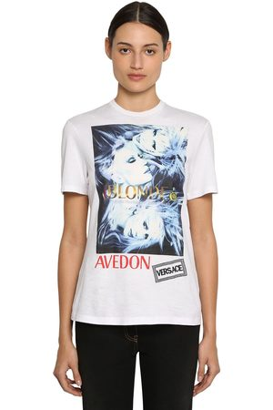 VERSACE T-shirt In Cotone