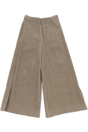 Unlabel Pantaloni In Velluto Di Cotone