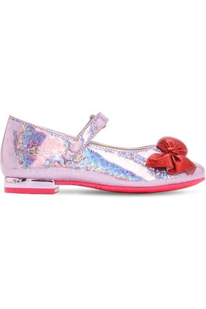 "SOPHIA WEBSTER Scarpe ""mary-jane"" In Pelle Glitter"