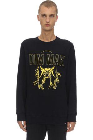 "DIM MAK COLLECTION Felpa ""dim Mak Demon Mask"" In Cotone"