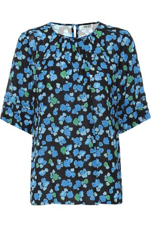 Kenzo Donna Bluse - Blusa a stampa floreale