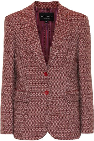 new style 563f3 714f2 Blazer in misto lana