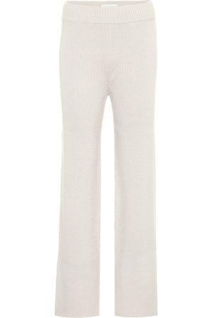 Kirin Pantaloni in maglia di misto lana