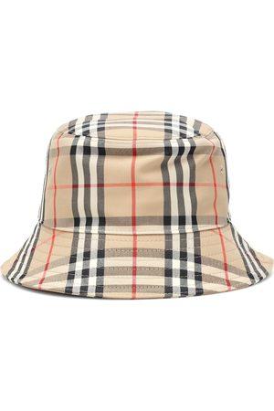 Burberry Cappello da pescatore in tartan