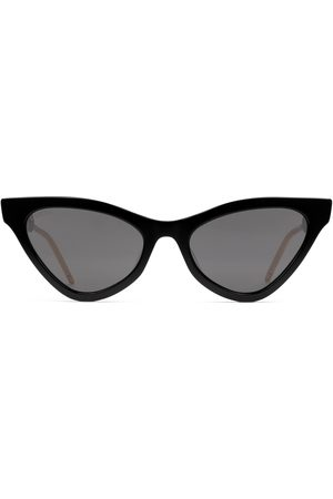 Gucci Occhiali da sole cat eye in acetato